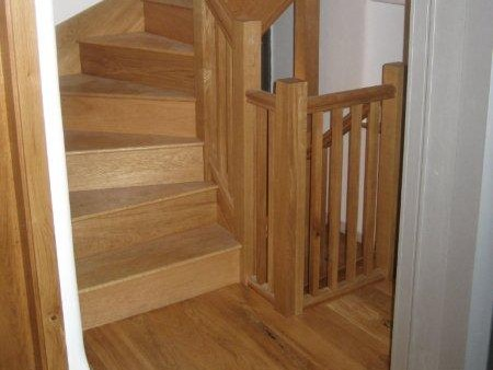 Timber staircases and floors in the Lake District