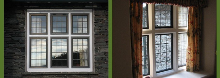 Wooden Windows across Cumbria and the Lake District