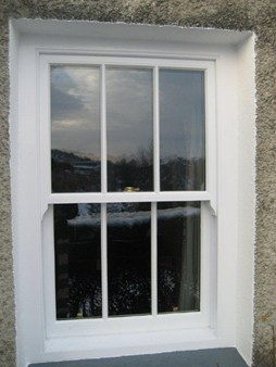 Traditional Sash Windows with modern double glazing